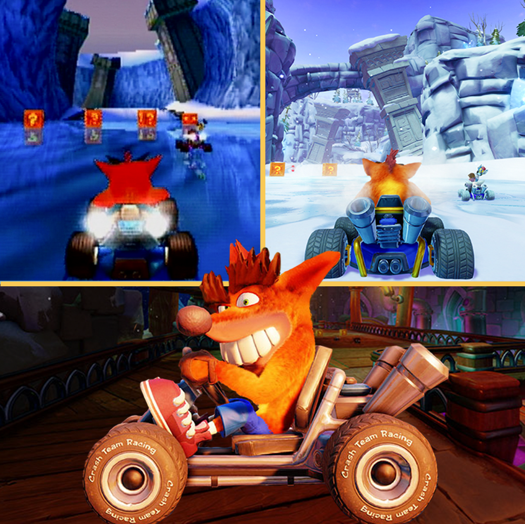 'Crash Team Racing Nitro-Fueled' Is the Perfect Remaster from the Weird Era of '90s Gaming