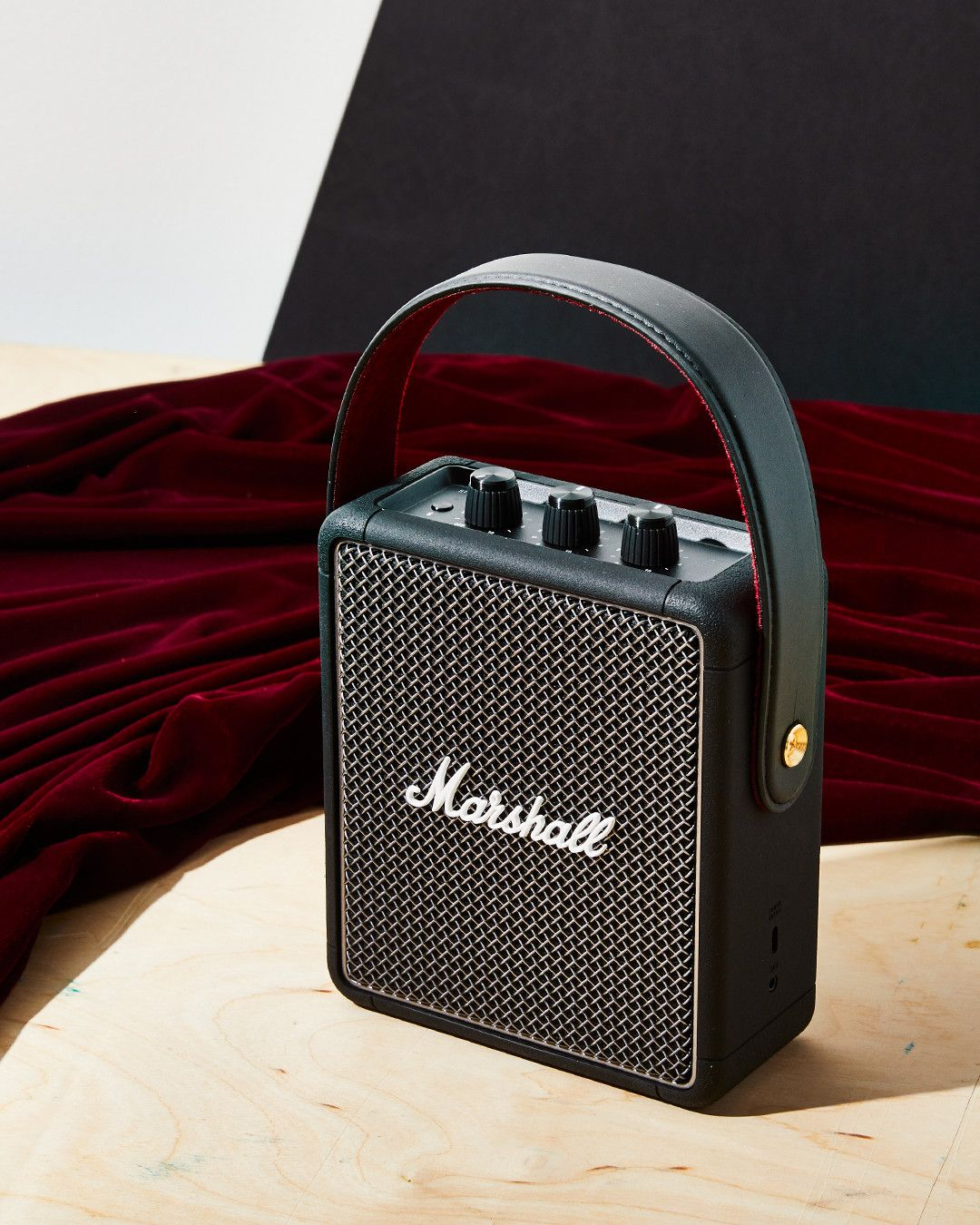 Marshall's Stockwell II Bluetooth Speaker Has Excellent Sound and Rockstar Vibes
