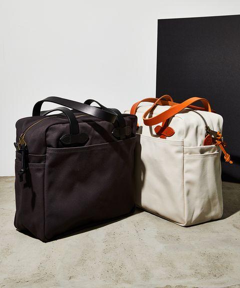 Bag, Handbag, Product, Hand luggage, Duffel bag, Orange, Brown, Baggage, Fashion accessory, Luggage and bags,