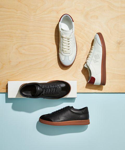 Footwear, Shoe, Plimsoll shoe, Sneakers, Athletic shoe, Leather, Oxford shoe,