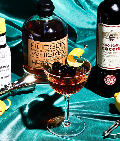 Best Manhattan Drink Recipe How To Make Manhattan Cocktail