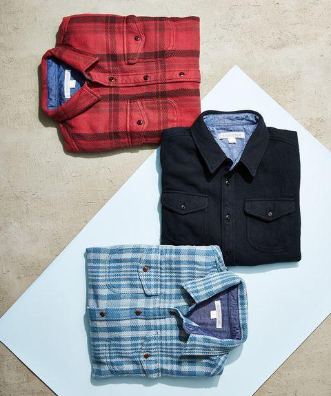 Clothing, Blue, Pocket, Plaid, Design, Pattern, Shirt, Jeans, Textile, Dress shirt,