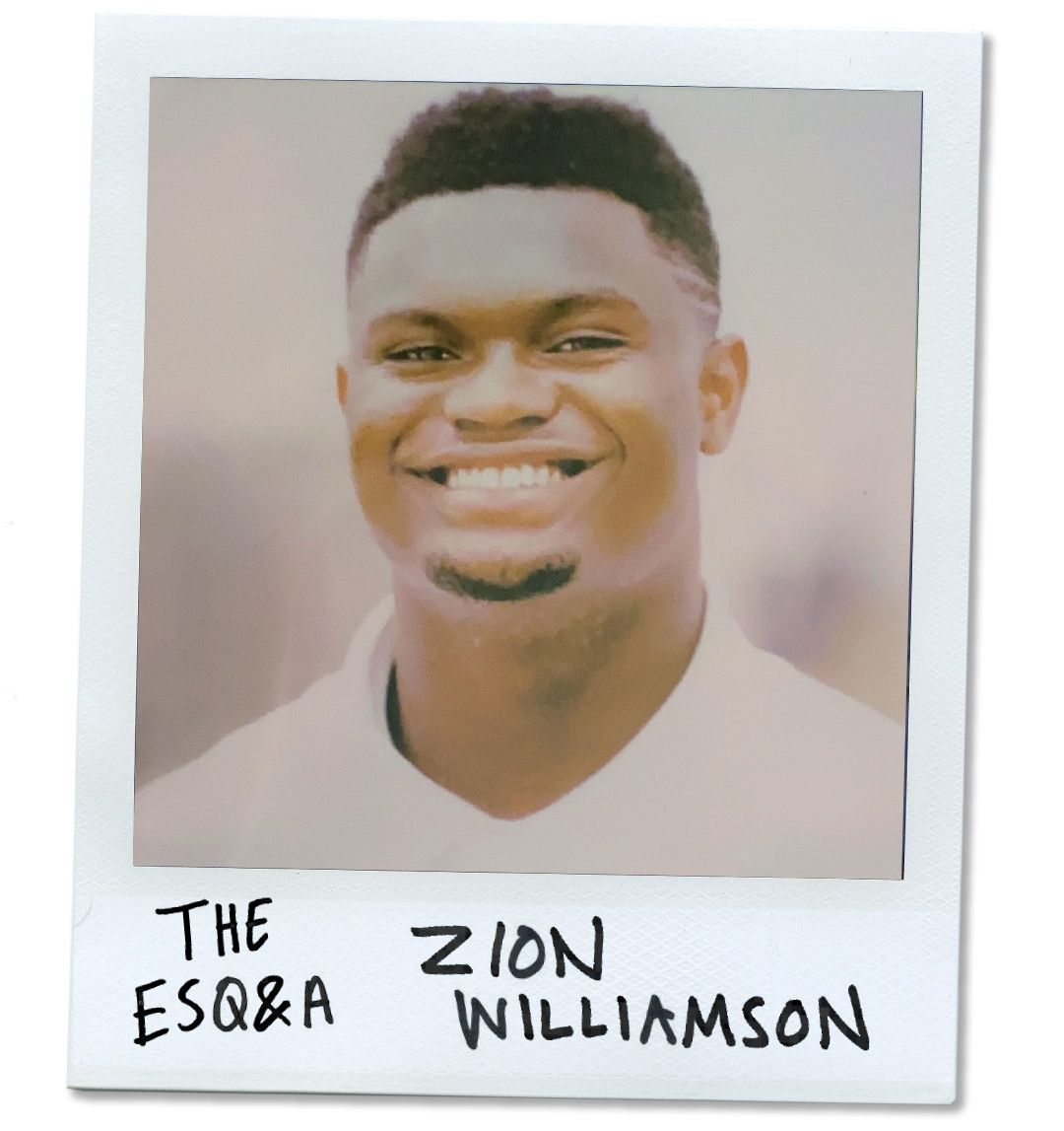 Zion Williamson on the Moment He Realized Everything That Was Ahead of Him