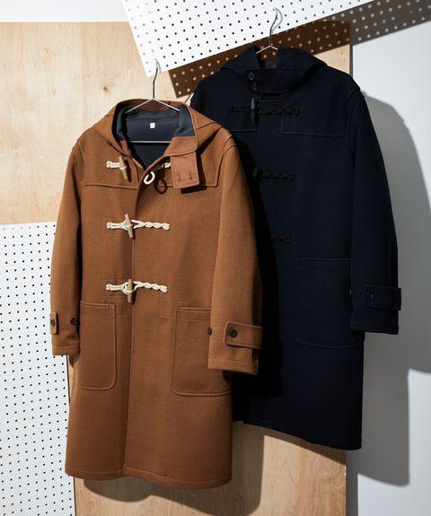 Clothing, Outerwear, Overcoat, Coat, Sleeve, Clothes hanger, Jacket, Trench coat, Pocket,