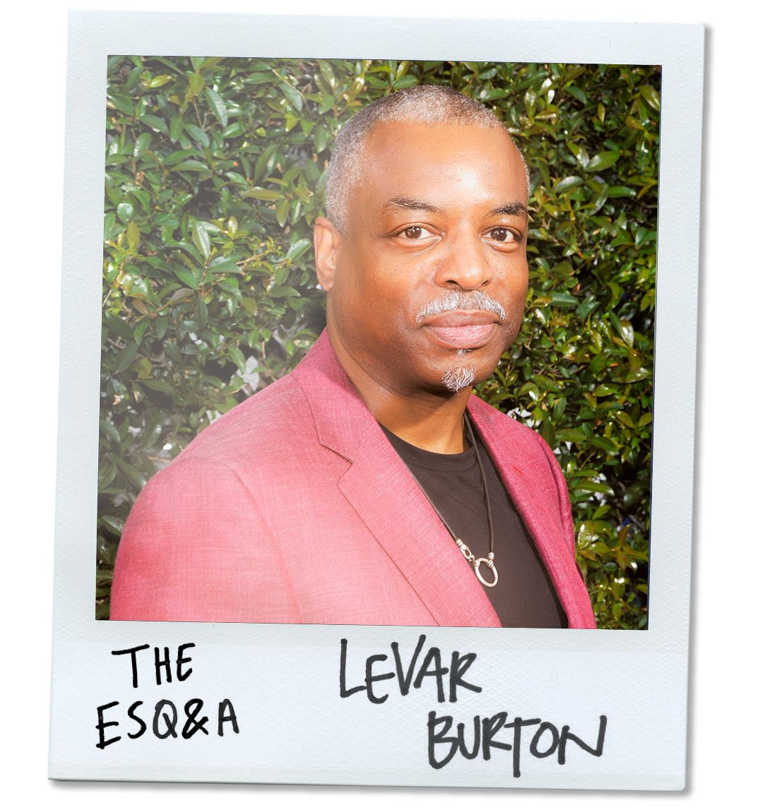 LeVar Burton Says Boomers Left a 'Shitshow of Problems' the Reading Rainbow Generation Will Fix