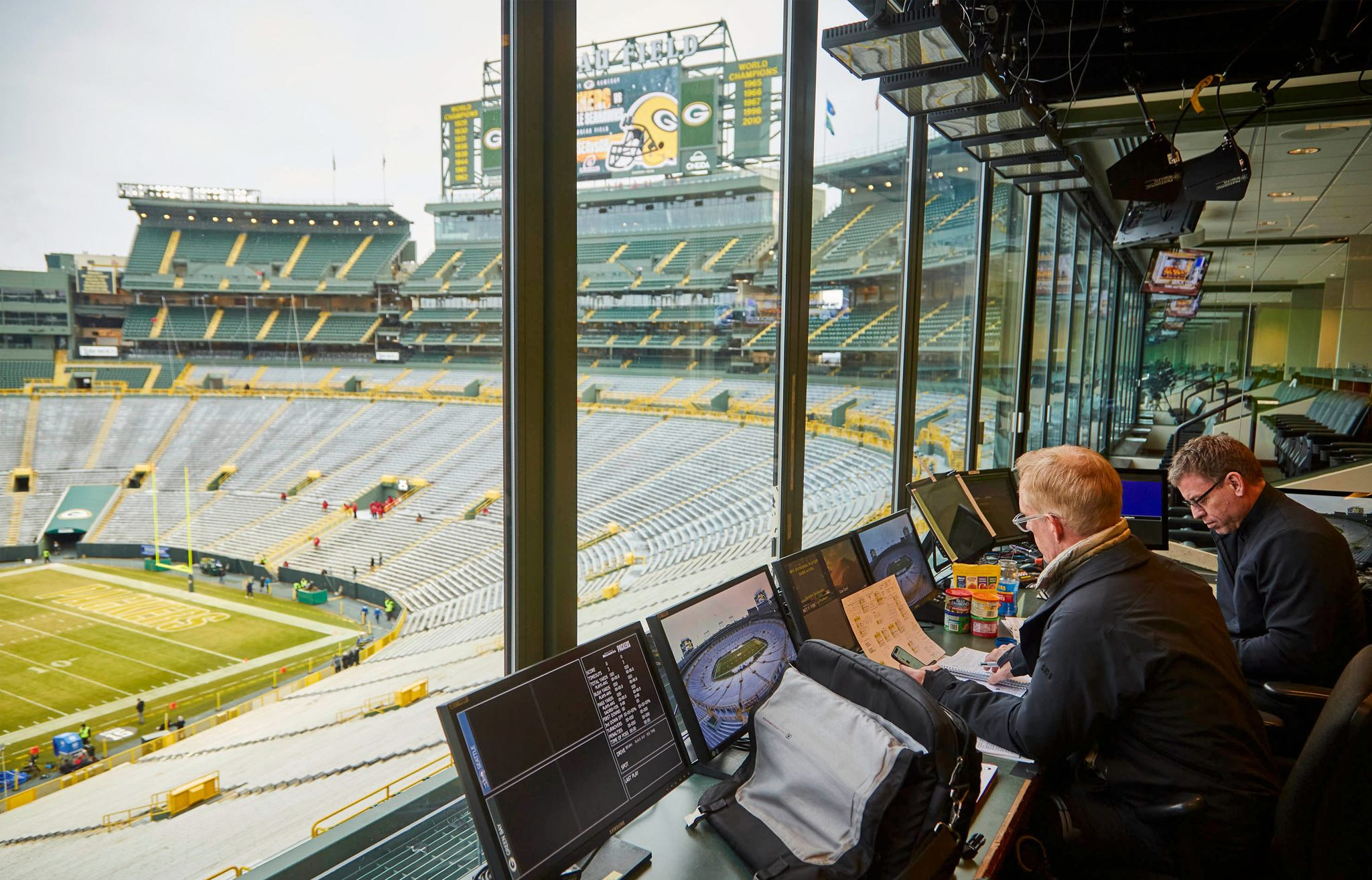 Stayin' Alive in Lambeau: How Fox Sports Pulls Off an NFL Playoffs Broadcast