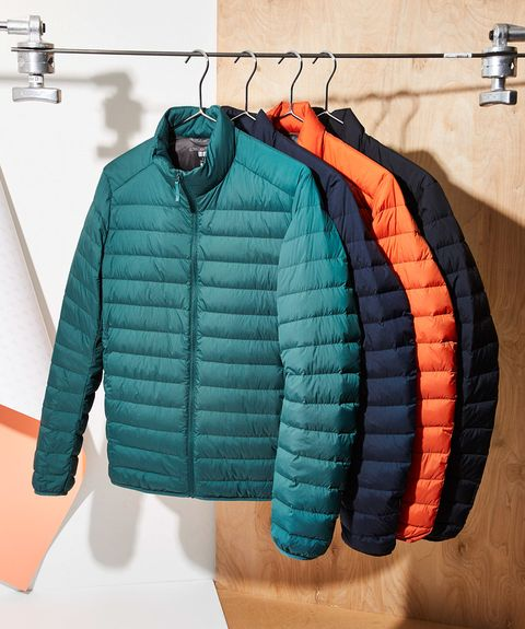 Clothing, Jacket, Outerwear, Clothes hanger, Turquoise, Sleeve, Sweater, Coat, Room, Top,