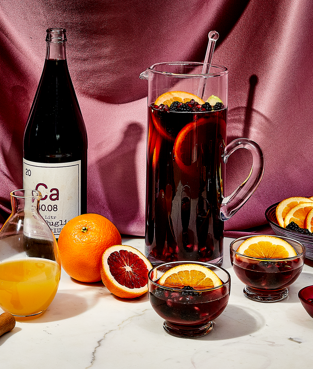 How to Make a Pitcher of Sangria