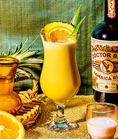 Alcoholic beverage, Drink, Distilled beverage, Fuzzy navel, Juice, Orange drink, Liqueur, Food, Ingredient, Cocktail garnish,