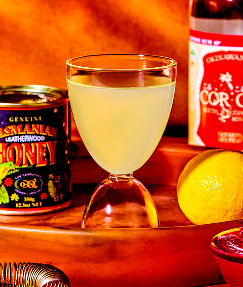 honey bee cocktail recipe