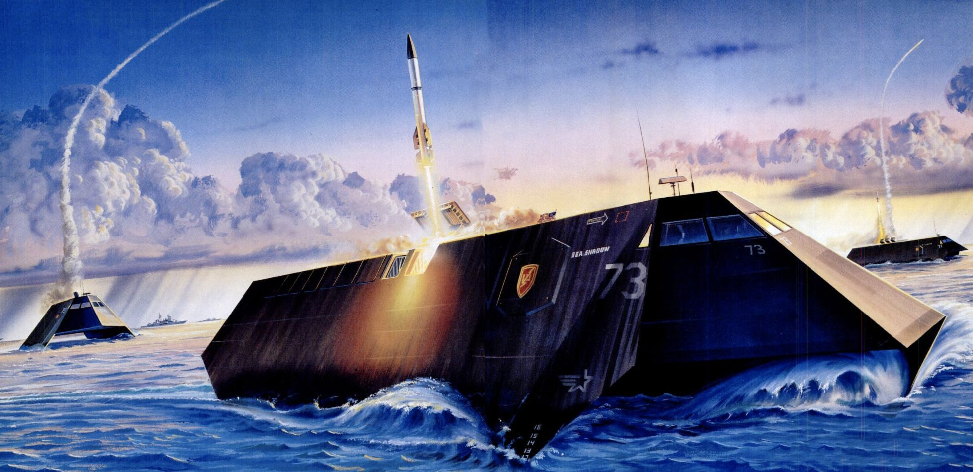 Remembering the Sea Shadow, America's 'Invisible Warship'