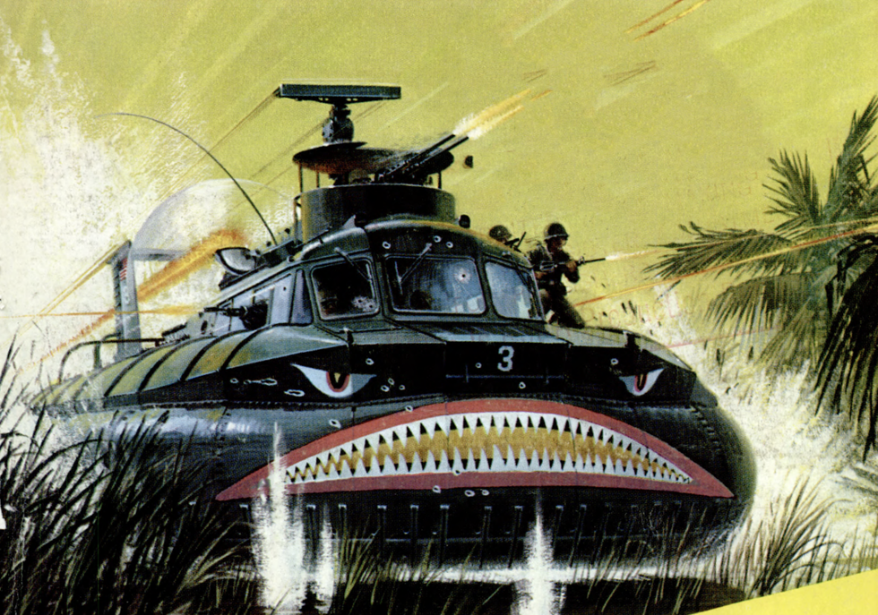 The Strange U.S. Navy Hovercraft That Fought in Vietnam