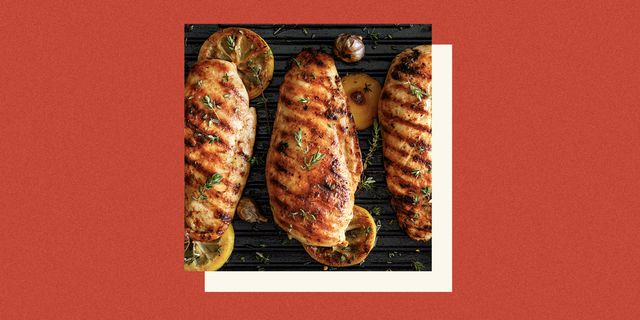 grilled chicken that's been marinated