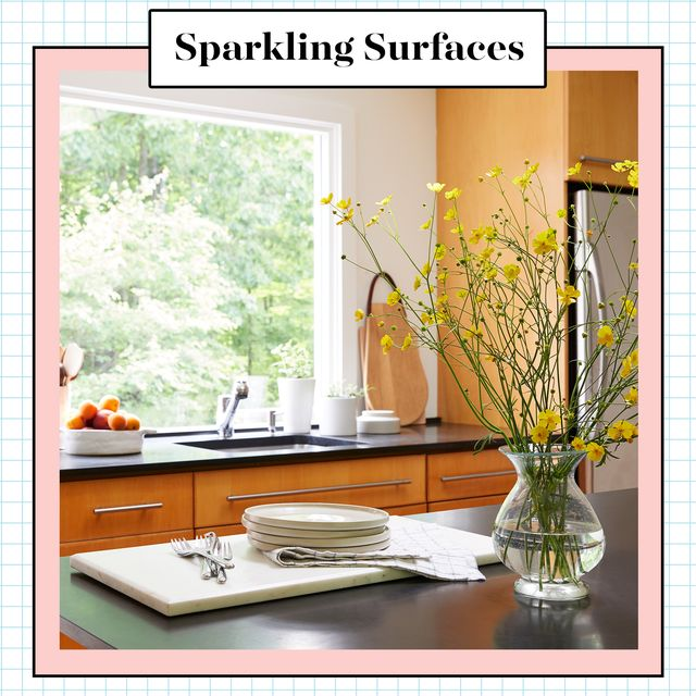 sparkling surfaces