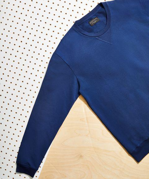 Clothing, Blue, Cobalt blue, Electric blue, Outerwear, Pocket, Sleeve, Trousers, Shorts, Denim,