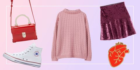 Valentine's Day Outfits - Converse VDay Looks