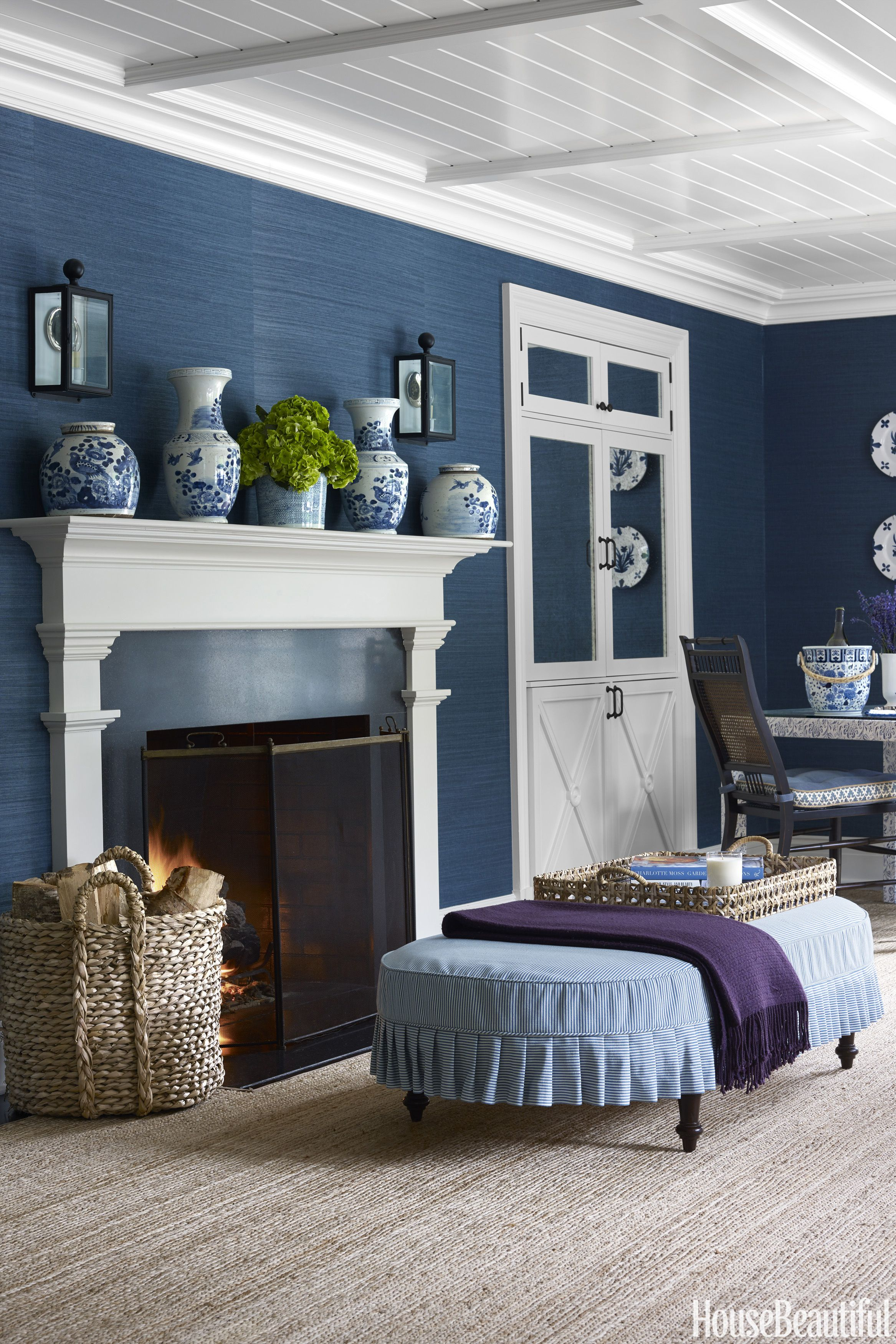 15 Cozy Fireplace Ideas - Best Fireplace Mantel Designs, Tips, and Colonial Blue Bedroom Decorating on colonial bedroom art, colonial rugs, colonial architecture, colonial bedroom furnishings, colonial bedroom style, colonial bathroom, colonial bedroom sets, colonial general, colonial beds, colonial mirrors, colonial master bedroom, colonial bedroom colors, colonial kitchen, colonial interior,