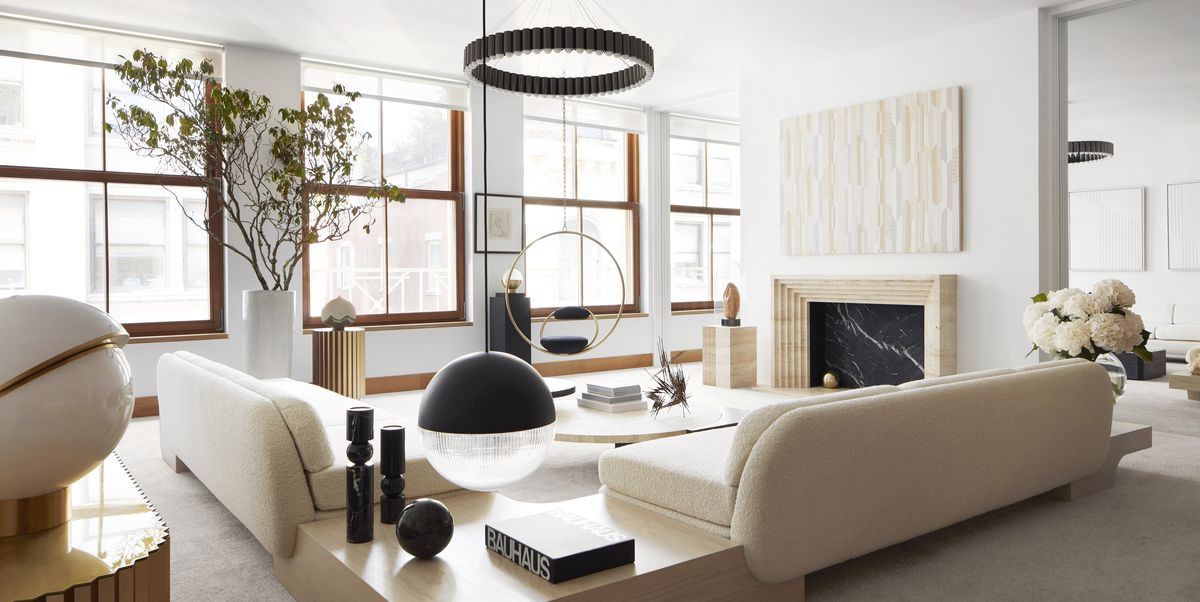 Award-winning British designer Lee Broom invites us into his New York apartment