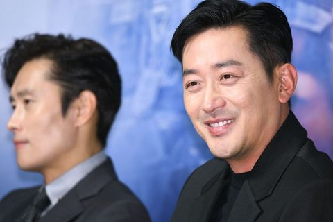 "Korean Movie ""Beakdu Mountain"" Premiere in Seoul"