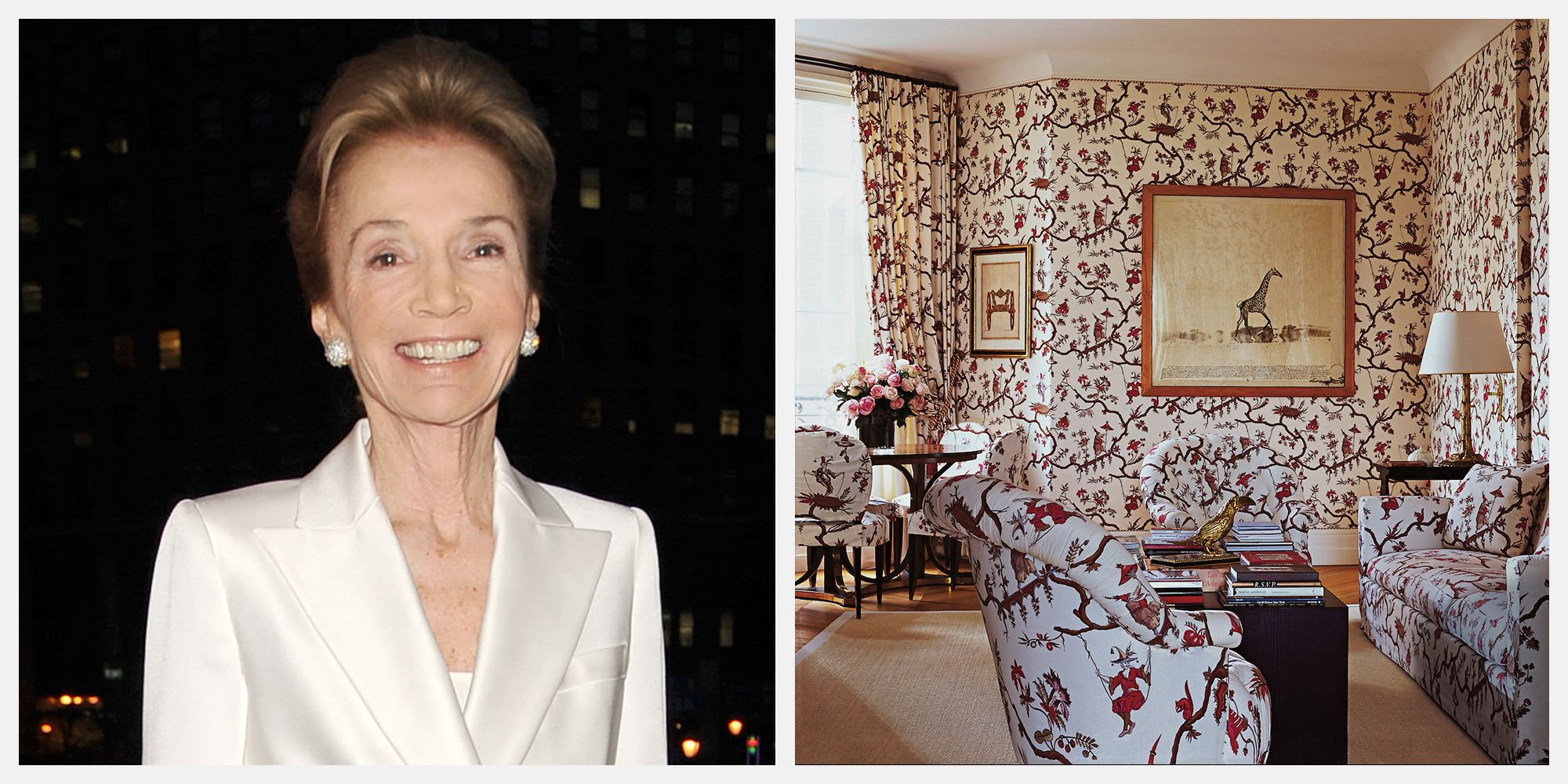Inside Lee Radziwill's Energetic Upper East Side Apartment