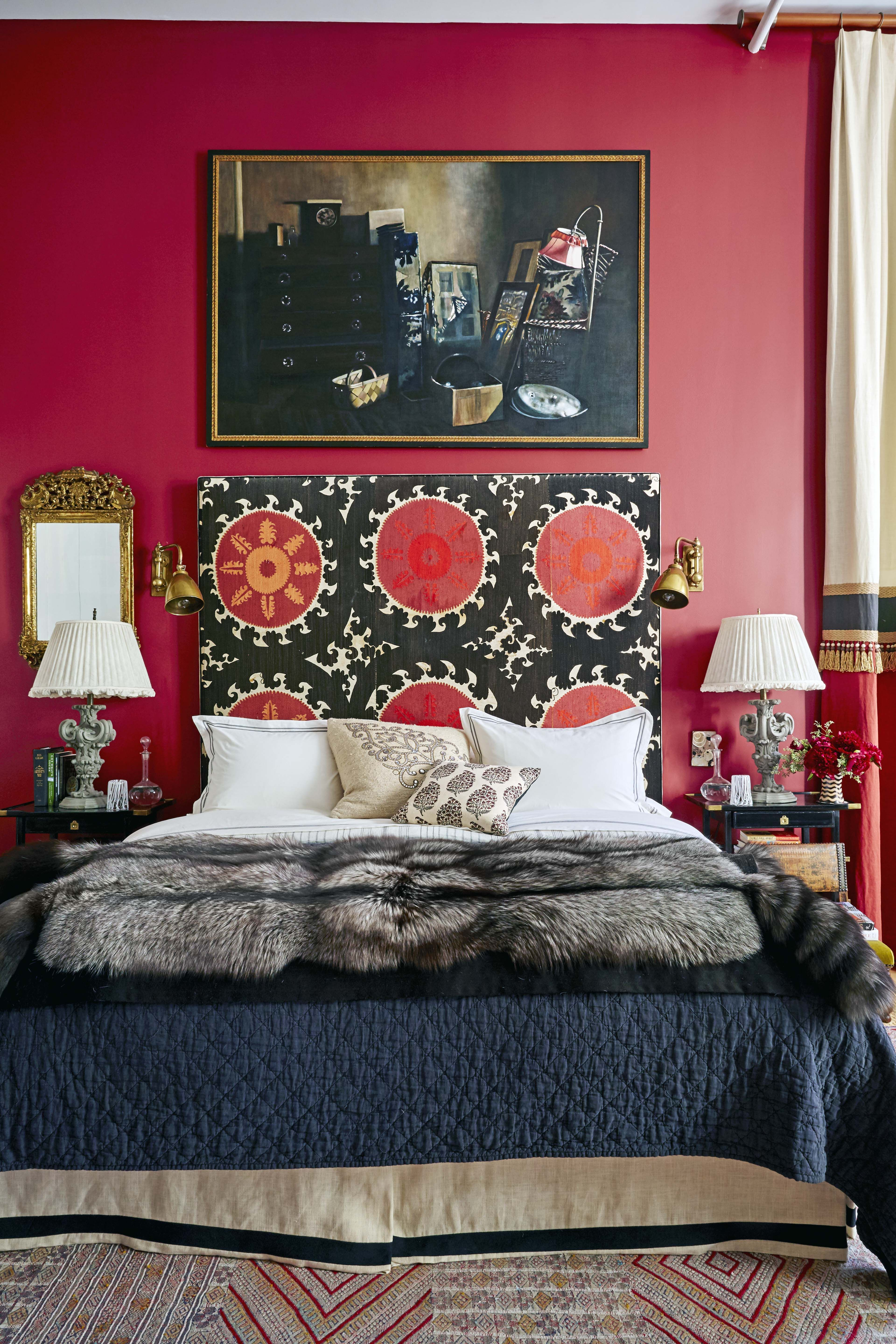 Red Room Color Schemes 16 Inviting Paint Colors to Elevate Your Bedroom Decor
