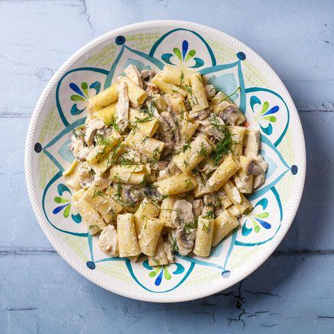 leftover chicken pasta