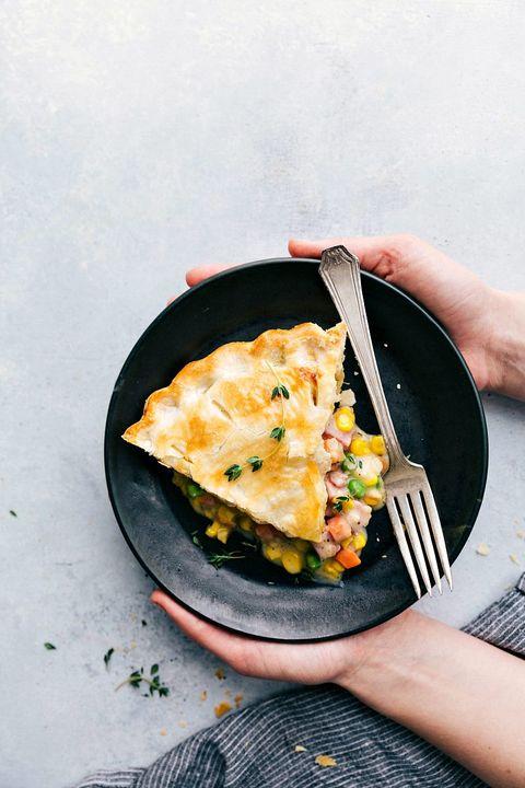 leftover ham recipes pot pie