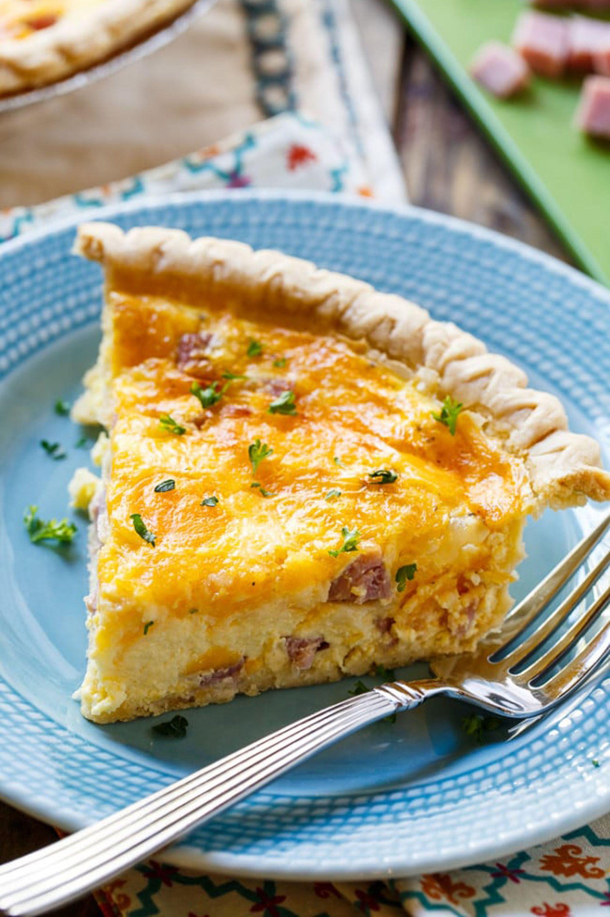 leftover ham recipes quiche