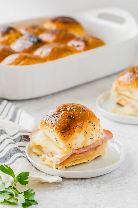 leftover ham recipes sliders