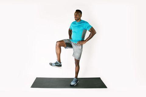 equilibrio con una pierna