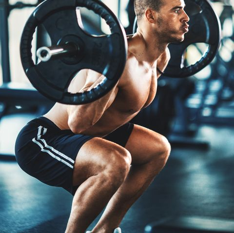 pain in knee when squatting