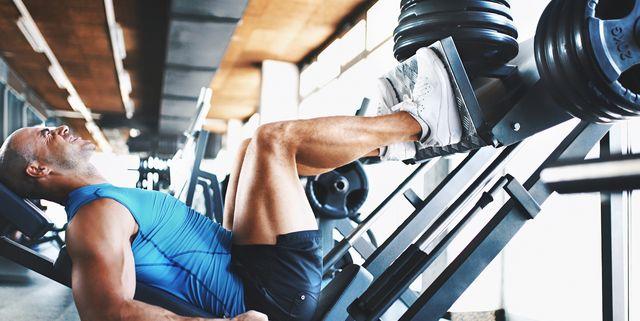 leg press exercise