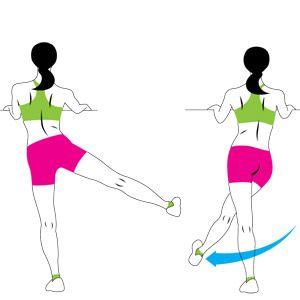 Side-to-Side Leg Swing