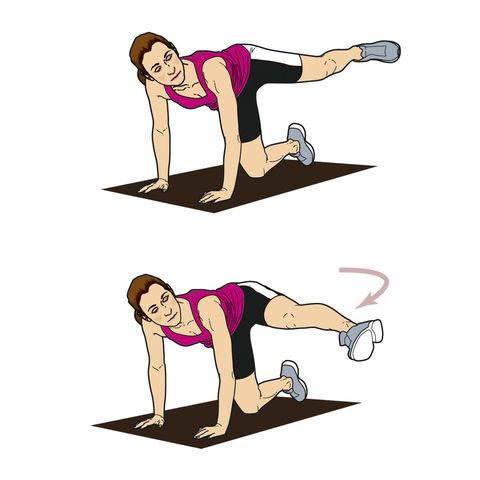 core workout for runners at home