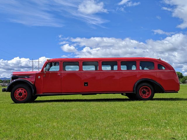 check out this fully restored 1937 kenworth tour bus