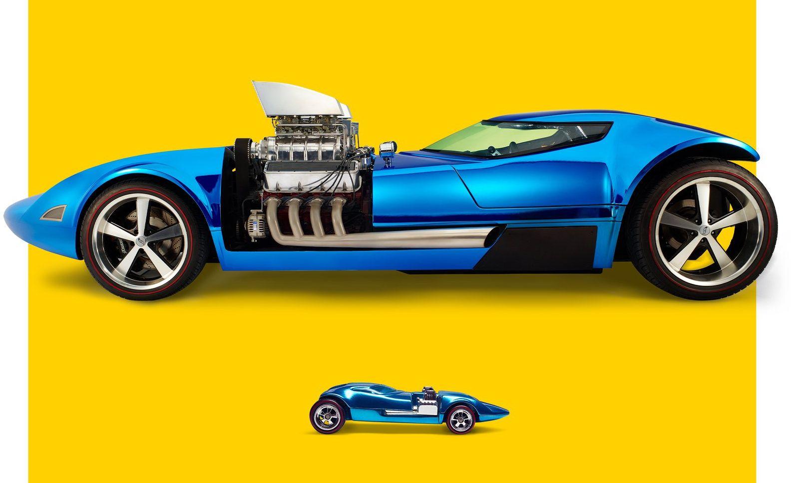 Hot Wheels Mattel Dream Mobile 1:64 Kids Diecast Model Toy Car HW Dream Garage
