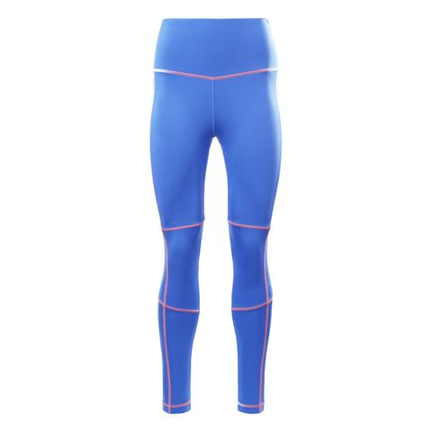 reebok sportlegging legging hardlooplegging sportkleding blauw
