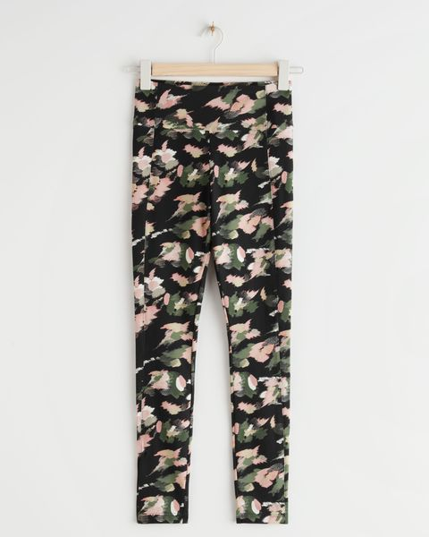 legging  other stories print groen thuis