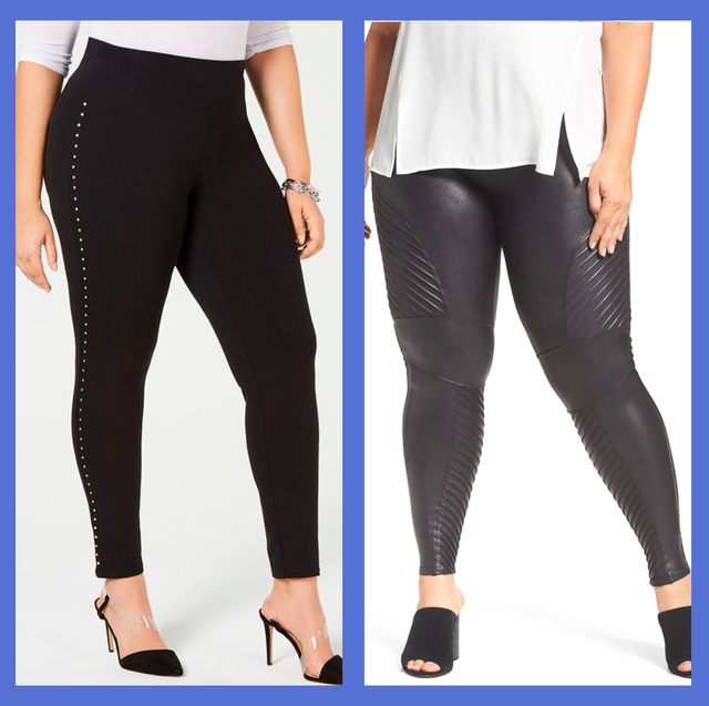 10 Plus Size Leggings You Can Wear from the Office to Date Night