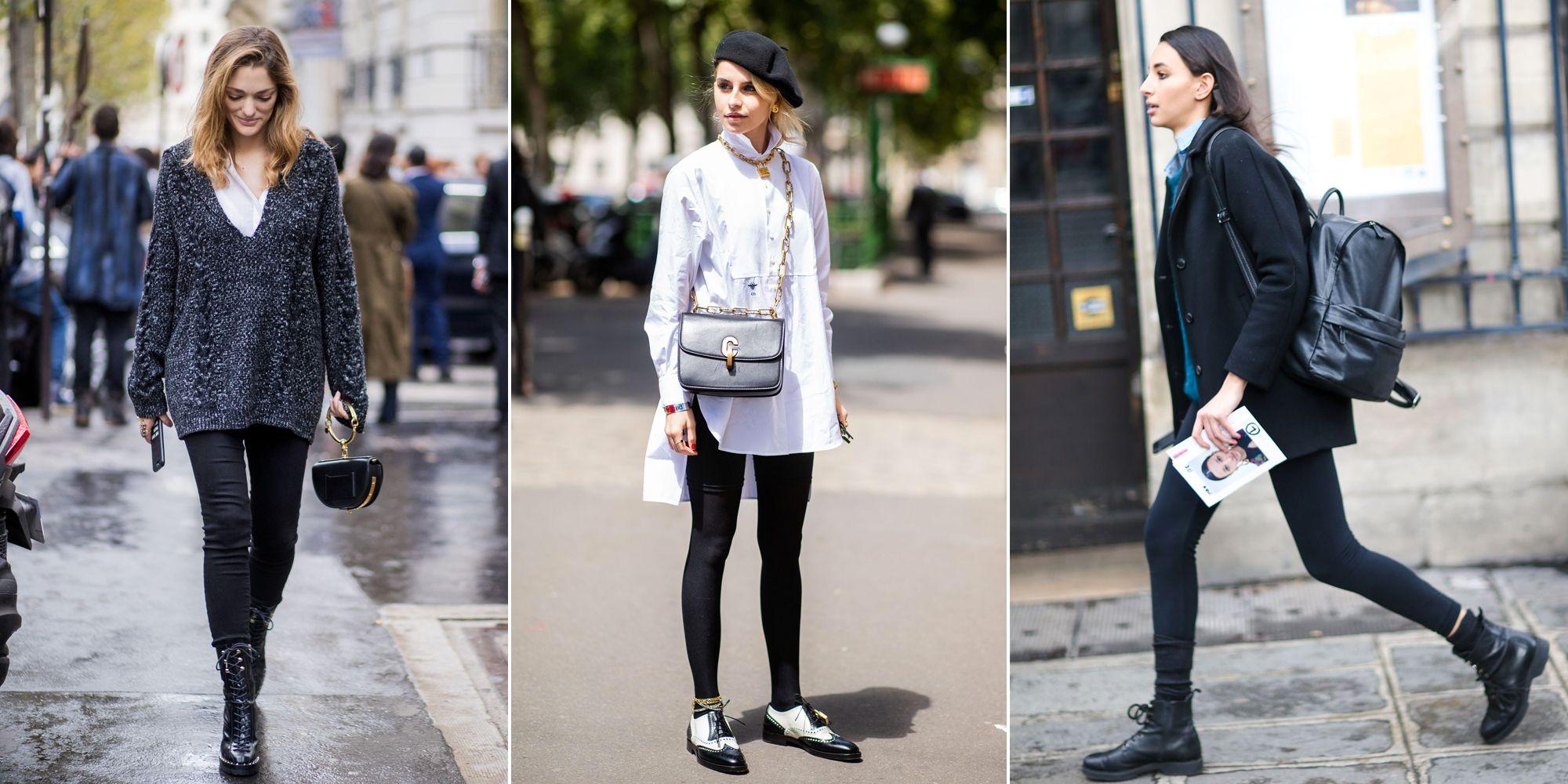 1ccec4c46c Cómo llevar BIEN los leggings en 2019 - Looks de tendencia con leggings