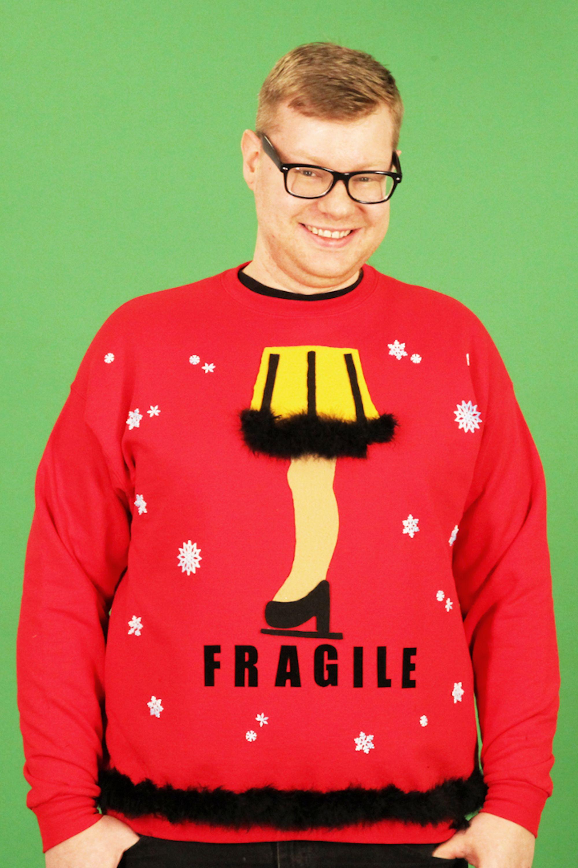 'AChristmas Story' leg lamp ugly sweater