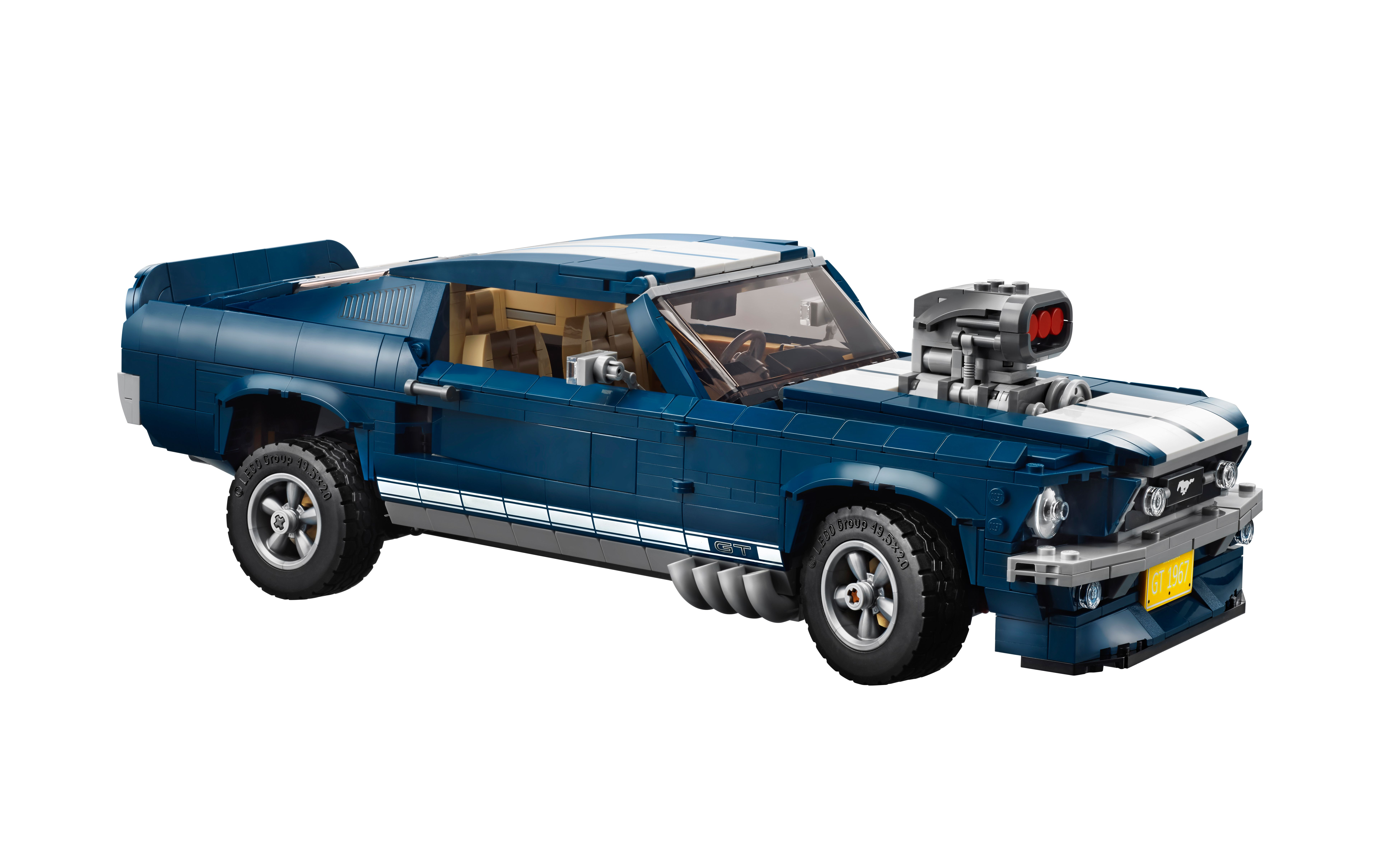 Legos latest creation is a 1967 ford mustang fastback