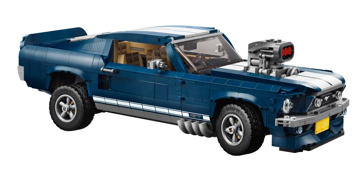 Lego Reveals 1967 Ford Mustang Fastback Kit