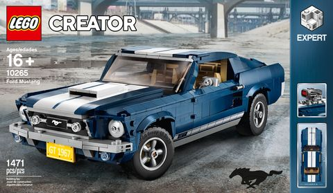 Lego Creator Makes A 1967 Ford Mustang Fastback Kit