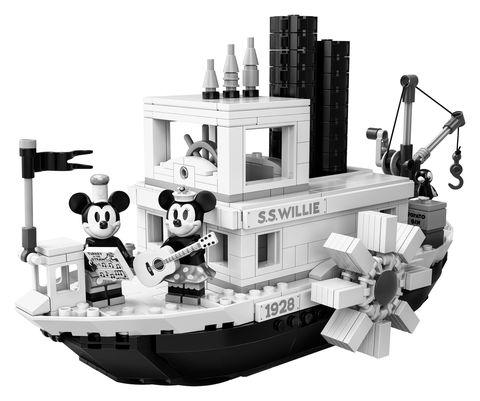 Lego, Vehicle, Architecture, Toy, Illustration, Tugboat, Black-and-white, Machine, Style, Wheel,