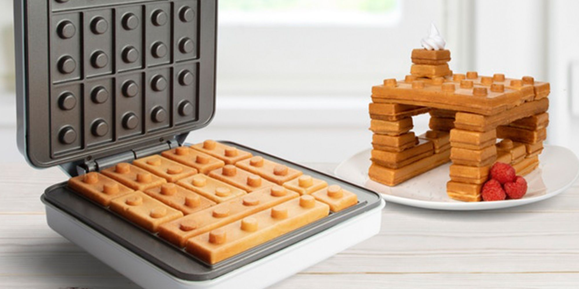 This Lego Waffle Maker Lets You Build A Brick Creation With Your Breakfast