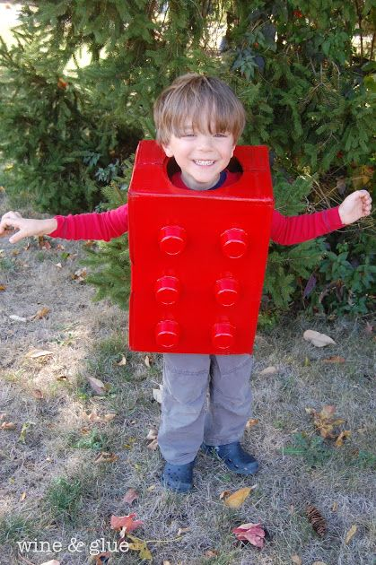 lego homemade halloween costume