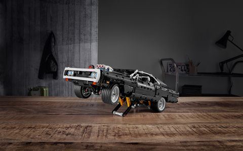 Dodge Charger Lego Set