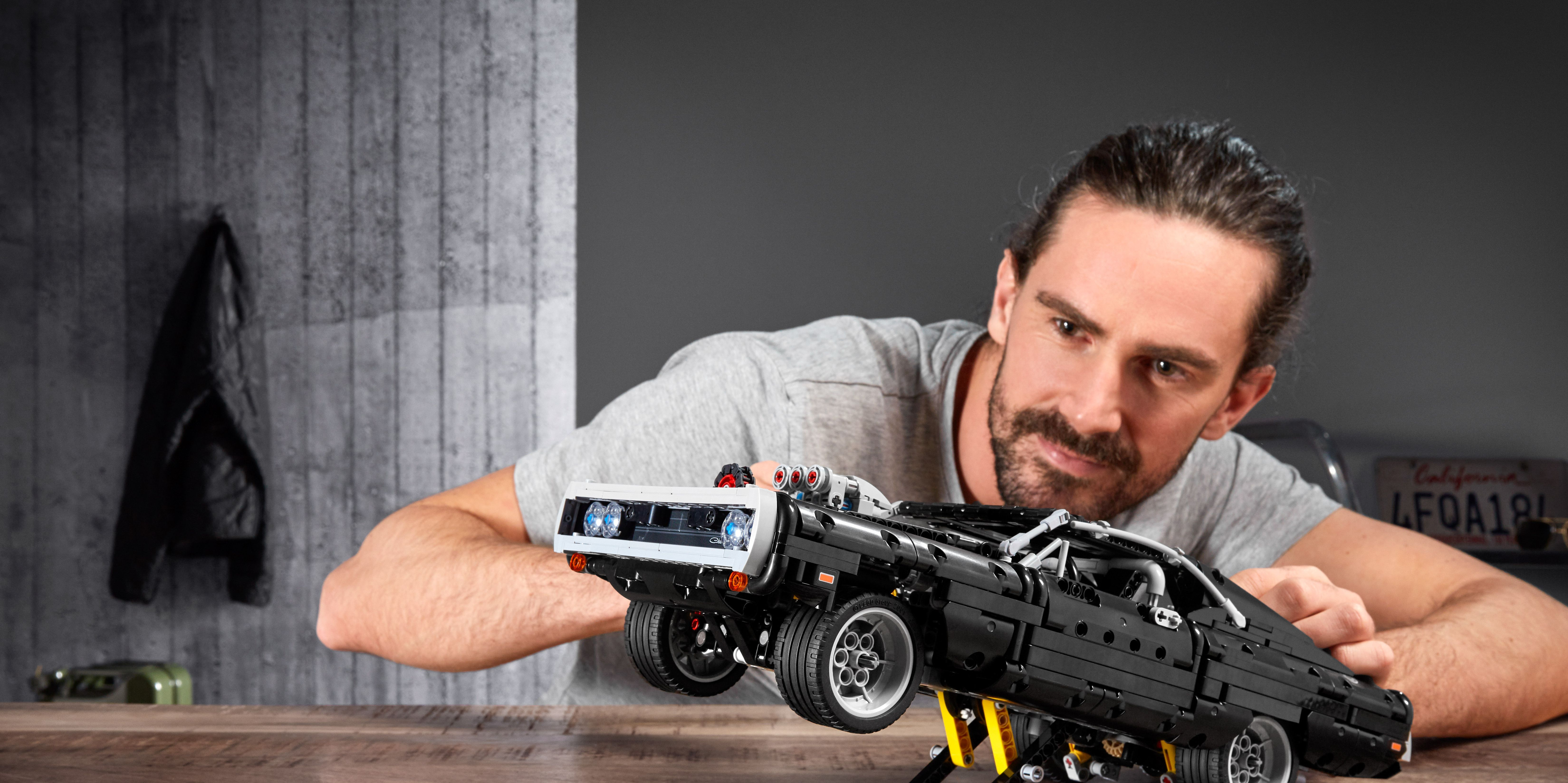 Dominic Toretto's Fast and Furious Dodge Charger Becomes Lego Kit