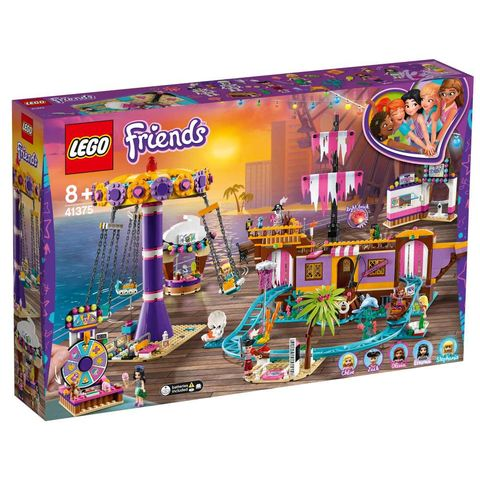 LEGO Friends 心湖城休閒碼頭